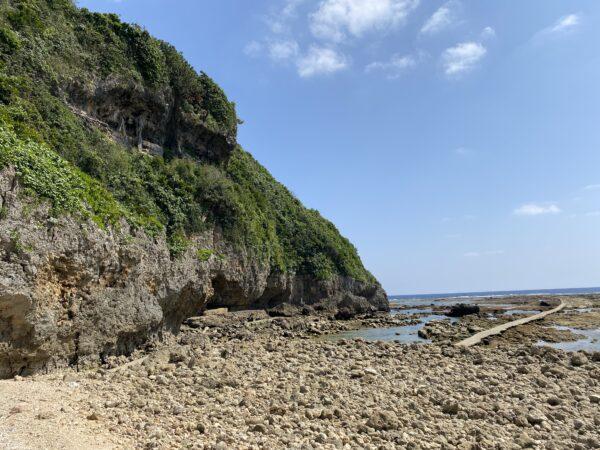大度浜海岸(ジョン万ビーチ)